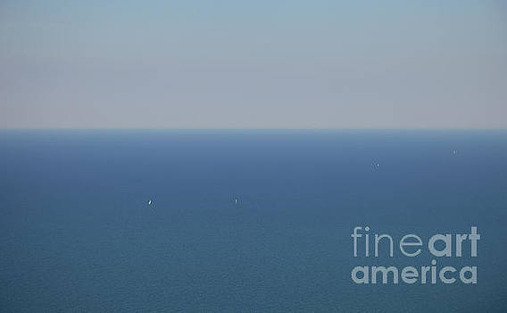 Wide Blue Sea by Holger Ostwald