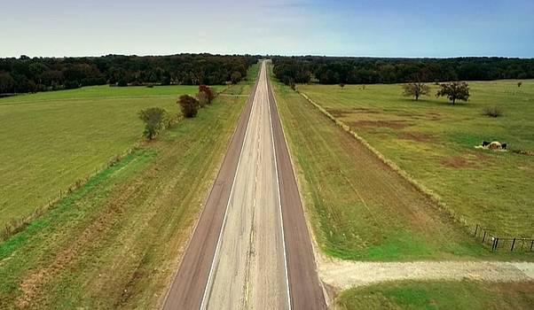 Wide Open Texas Fields by Mozelle Beigel Martin