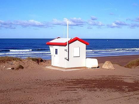 Widemouth Hut by Richard Heath