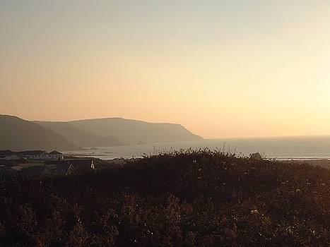 Widemouth sunset by Richard Heath