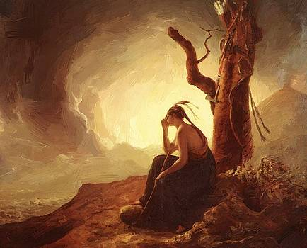Wright Joseph - Widow Of An Indian Chief 1785