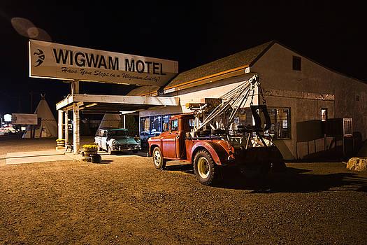 Wigwam Motel #3 by Robert J Caputo