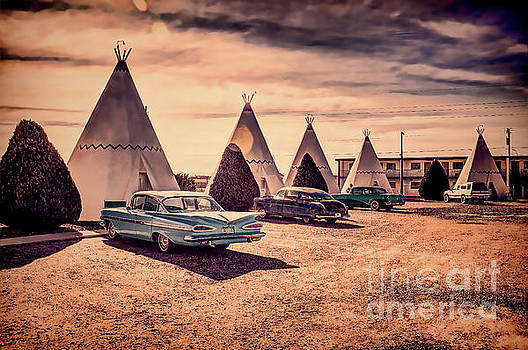 Wigwam Motel by David Lane