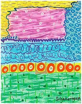 Wild Abstract by Susan Schanerman