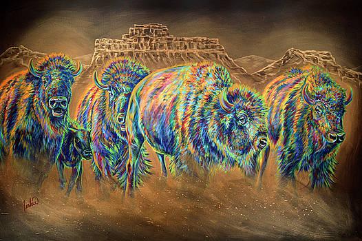 Wild and Free by Teshia Art