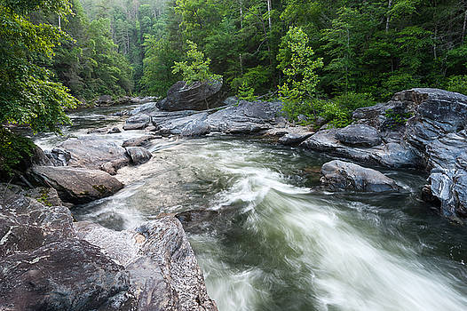 Wild and Scenic Chattooga River Blue Ridge Mountains by Mark VanDyke