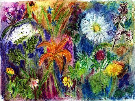 Wild Backyard Meadow by Diana Ludwig