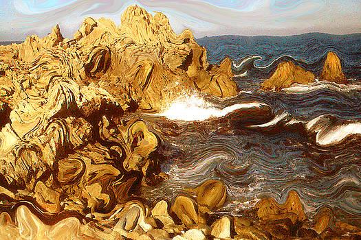 Art America Gallery Peter Potter - Wild California Coast - Modern Art