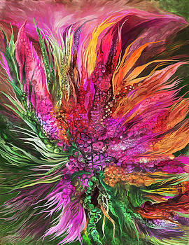 Wild Flower 2 - Organica by Carol Cavalaris
