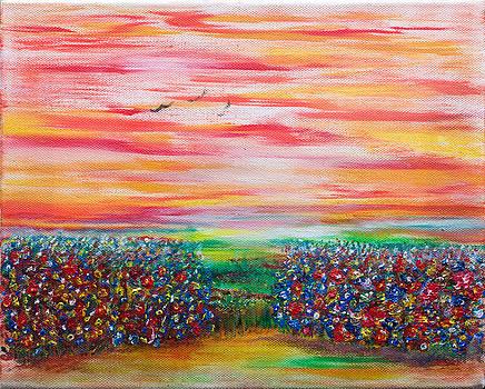 Wild Flowers by Emma Kinani