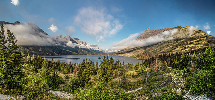 Wild Goose Island Glacier National Park  by John McGraw