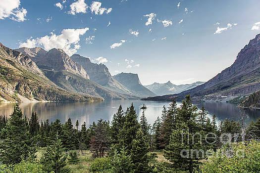 Wild Goose Island in St. Mary Lake - Glacier National Park by Jason Kolenda