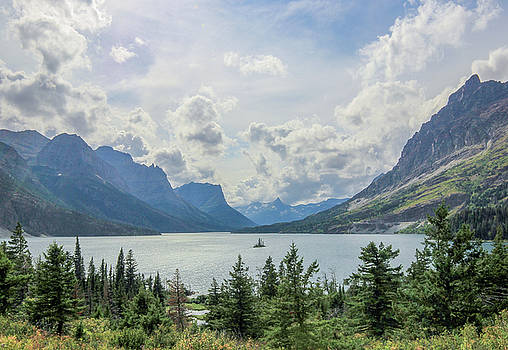 Wild Goose Island Overlook // St. Mary Lake, Glacier National Park  by Nicholas Parker