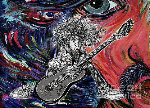 Wild Hair Guitar by Doug LaRue