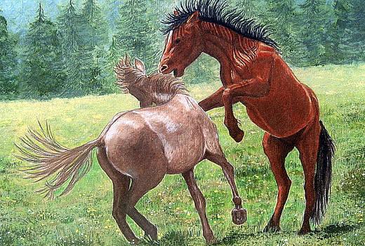 Wild Horses by Lorraine Foster