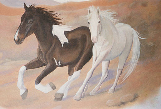 Wild Horses by Suzn Smith