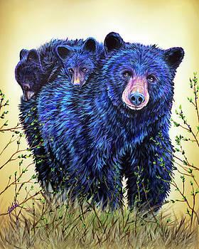 Teshia Art - Wild Hucklebearies