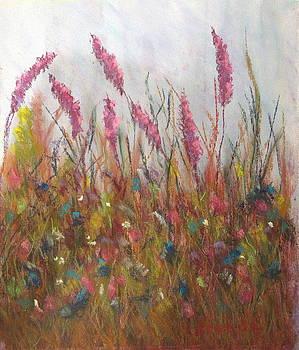Wild Meadow by Brenda Maas