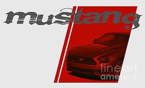 Wild Mustang by Paul Kuras