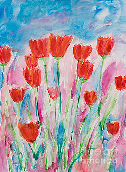 Wild Poppies by Art by Danielle
