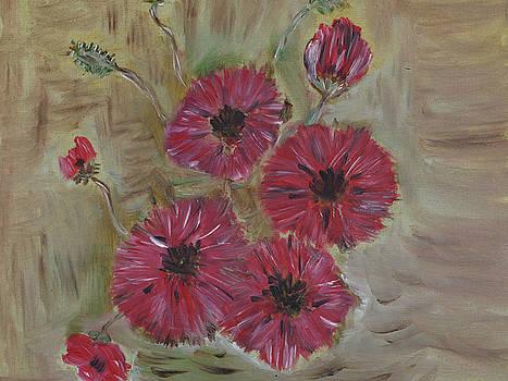 Wild Poppies by Iancau Crina