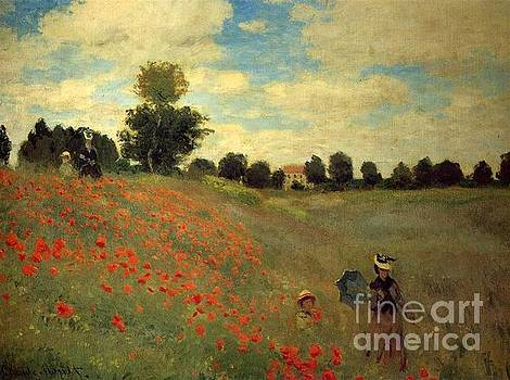 Monet - Wild Poppies Near Argenteuil