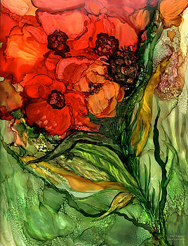 Wild Poppies - Organica by Carol Cavalaris