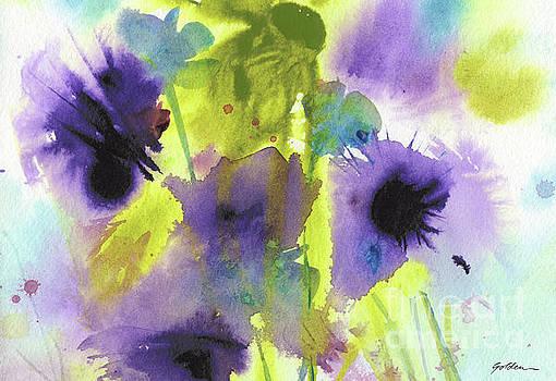 Wild Purples by Sheila Golden