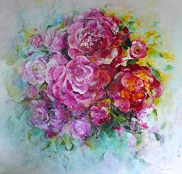 Wild Rose Bouquet by Barbara Anna Cichocka