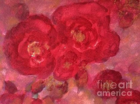 Wild Roses I by Aase Birkhaug