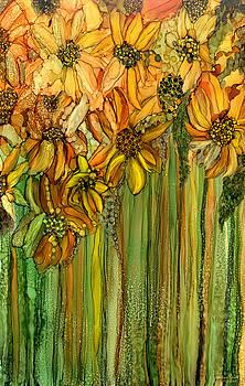 Wild Sunflower Garden by Carol Cavalaris