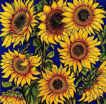 Richard Lee - Wild Sunflowers