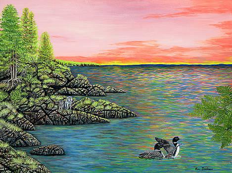 Wild Sunrise by Ron Dietman