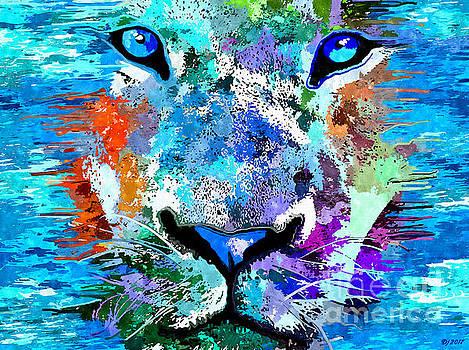 Wild Water Lion by Daniel Janda