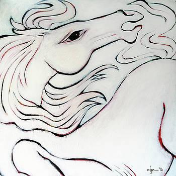 Wild White by Angela Treat Lyon