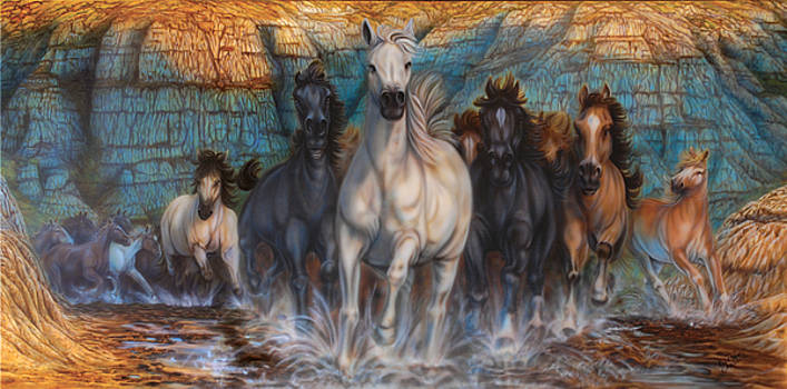 Wild, Wild Horses by Wayne Pruse