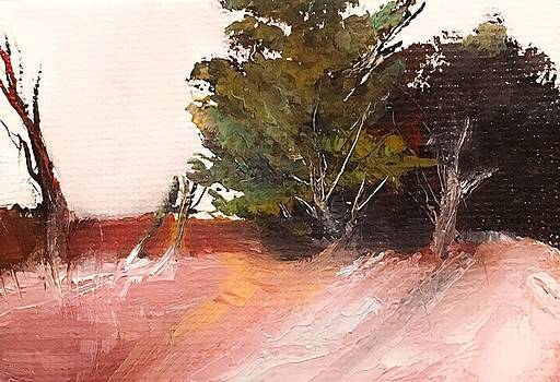 Wilderness Brushy Landscape by Michele Carter