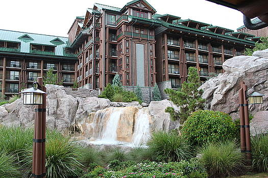 Wilderness Lodge by Sherry Hahn