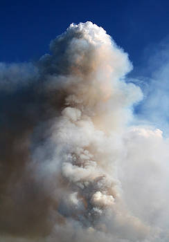 Wildfire Smoke Column by Wyatt Rivard