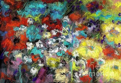 Wildflower Field by Frances Marino