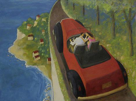 Wildflower Road by Glenn Quist