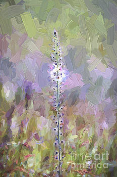 Wildflowers - Abstract Art - Impasto Style by Kerri Farley