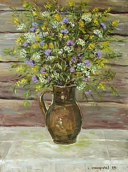 Wildflowers in the Jug by Liudvikas Daugirdas