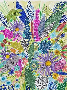 Wildflowers by Rosalina Bojadschijew