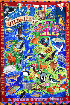 Wildlife of the British Isles by Jane Tomlinson