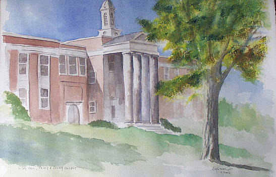 Wiley Hall, Emory and Henry College by Jim Stovall