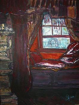Wilhelmina's Windowseat by Helena Bebirian