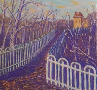 Wilksboro Bridge Northside Pittsburgh by Joann Renner