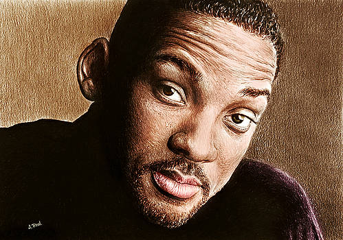 Will Smith colour by Andrew Read