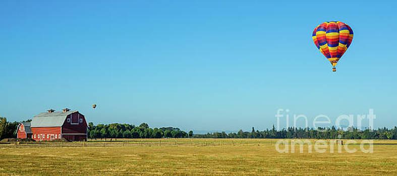 Willamette Valley Landscape by Nick Boren